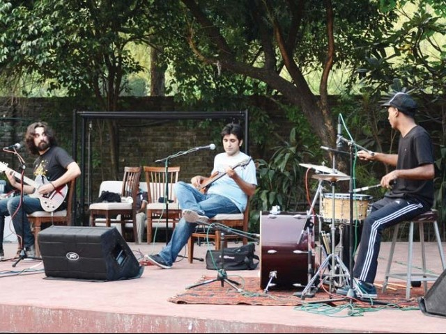 The band not only performed their latest singles but also interacted with the audience. PHOTO: HUMA CHOUDHARY<br />
